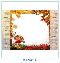 calendario fotografico cornice 38