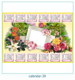 calendario fotografico cornice 39