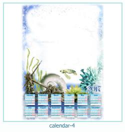 calendário moldura 4