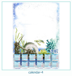 calendrier cadre photo 4