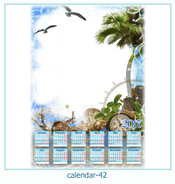 calendario fotografico cornice 42