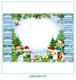 calendario fotografico cornice 43