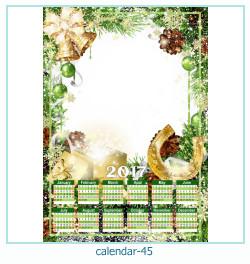 calendario fotografico cornice 45