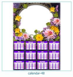 calendario fotografico cornice 48