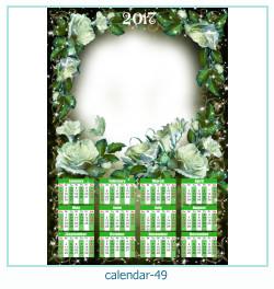 calendar photo frame 49