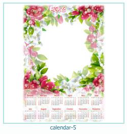 calendrier cadre photo 5