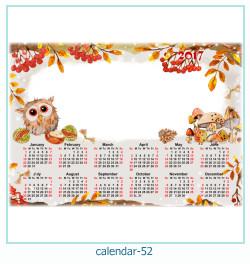 calendario fotografico cornice 52