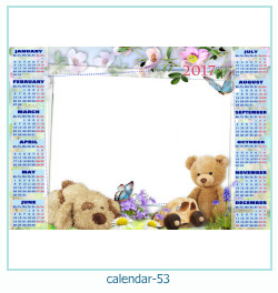 calendario fotografico cornice 53