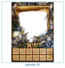 calendário moldura 55