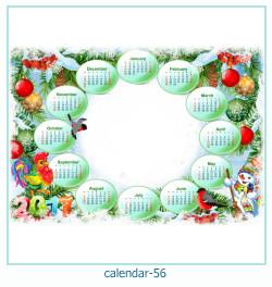 Kalender Fotorahmen 56