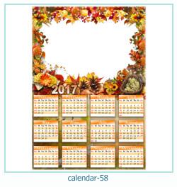 calendario fotografico cornice 58
