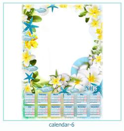 कैलेंडर फोटो फ्रेम 6