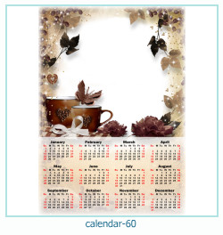 calendario fotografico cornice 60