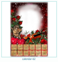 calendario fotografico cornice 62