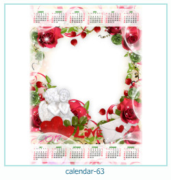 Kalender Fotorahmen 63