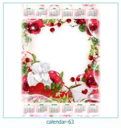 calendario fotografico cornice 63