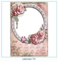 Kalender Fotorahmen 74