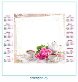 Kalender Fotorahmen 75