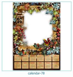 Kalender Fotorahmen 78