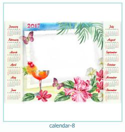 calendrier cadre photo 8