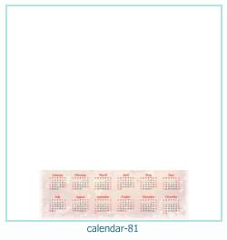calendario marco de fotos 81