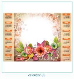 Kalender Fotorahmen 83