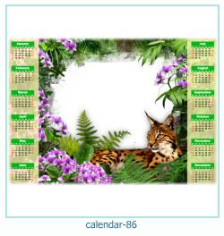 calendario fotografico cornice 86