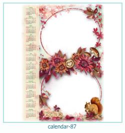 Kalender Fotorahmen 87
