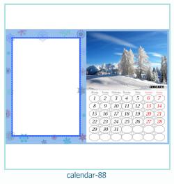 calendario marco de fotos 88