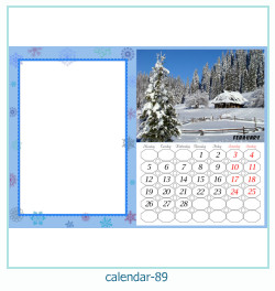 calendario fotografico cornice 89