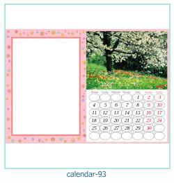 calendario marco de fotos 93