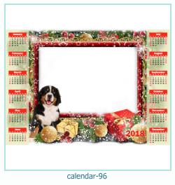 calendario fotografico cornice 96