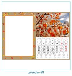 calendrier cadre photo 98