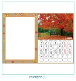 calendrier cadre photo 99