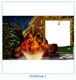 Weihnachten Fotorahmen 1