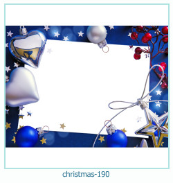 Marco de la foto de la navidad 190