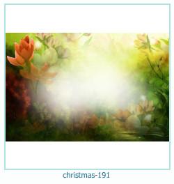 Marco de la foto de la navidad 191