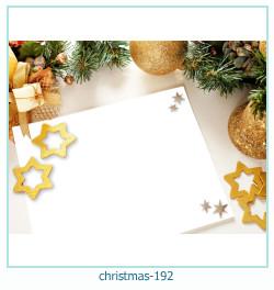 Marco de la foto de la navidad 192