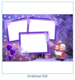 Marco de la foto de la navidad 530