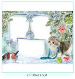 Marco de la foto de la navidad 531