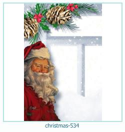 Marco de la foto de la navidad 534