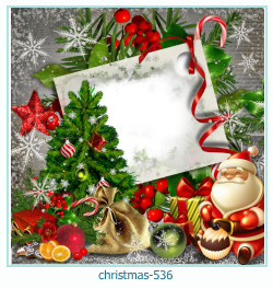Marco de la foto de la navidad 536