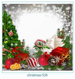 Marco de la foto de la navidad 539