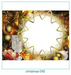 Marco de la foto de la navidad 540
