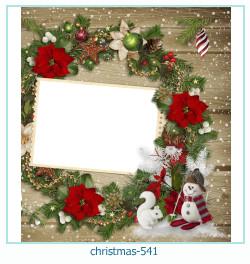 Marco de la foto de la navidad 541