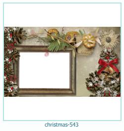 Marco de la foto de la navidad 543