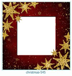 Marco de la foto de la navidad 545