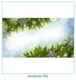 Marco de la foto de la navidad 546
