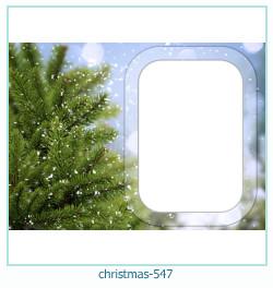 Marco de la foto de la navidad 547