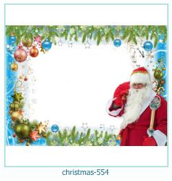 Marco de la foto de la navidad 554